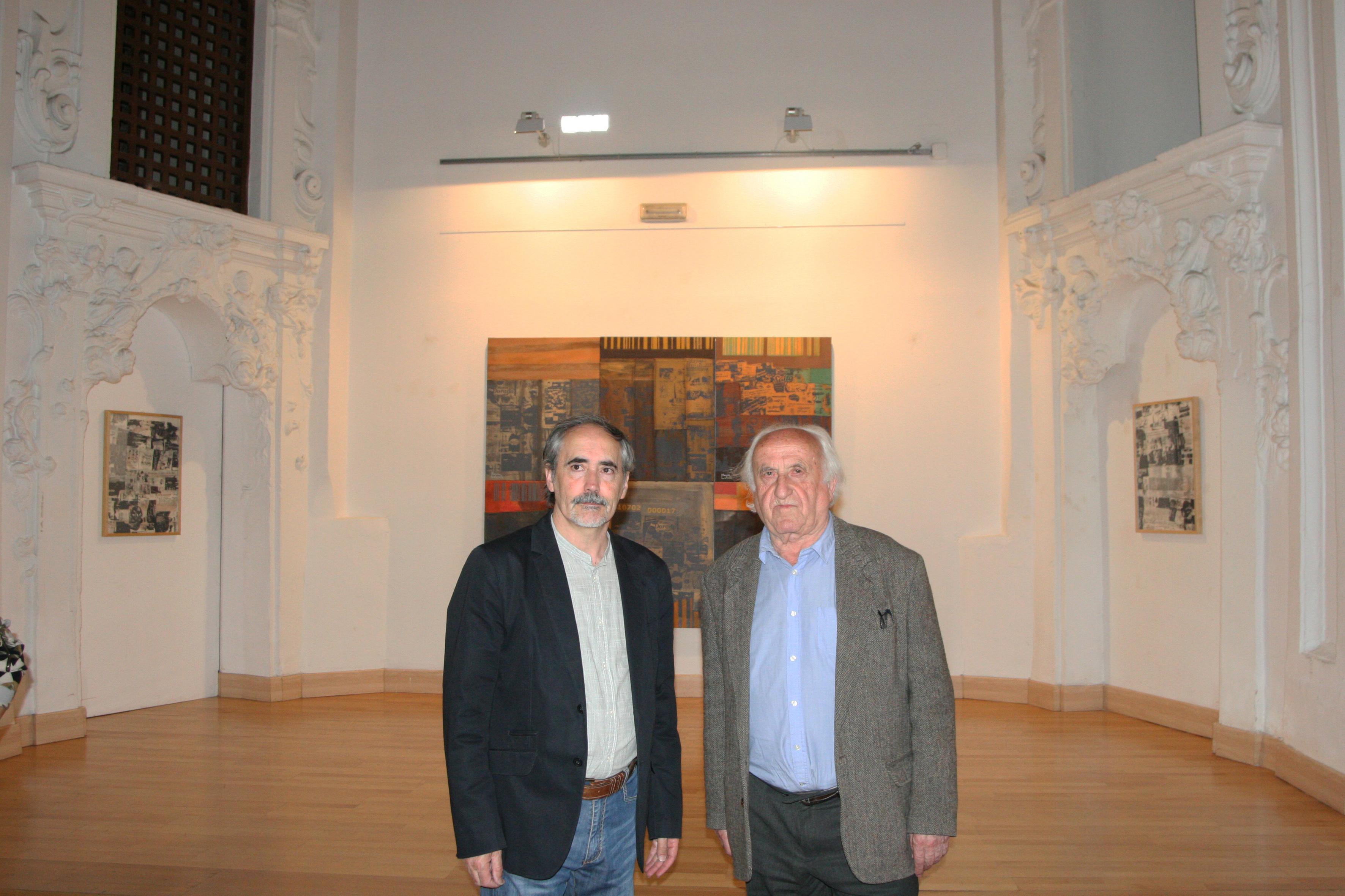Expo. de Narciso Lafuente  con Antonio Pérez
